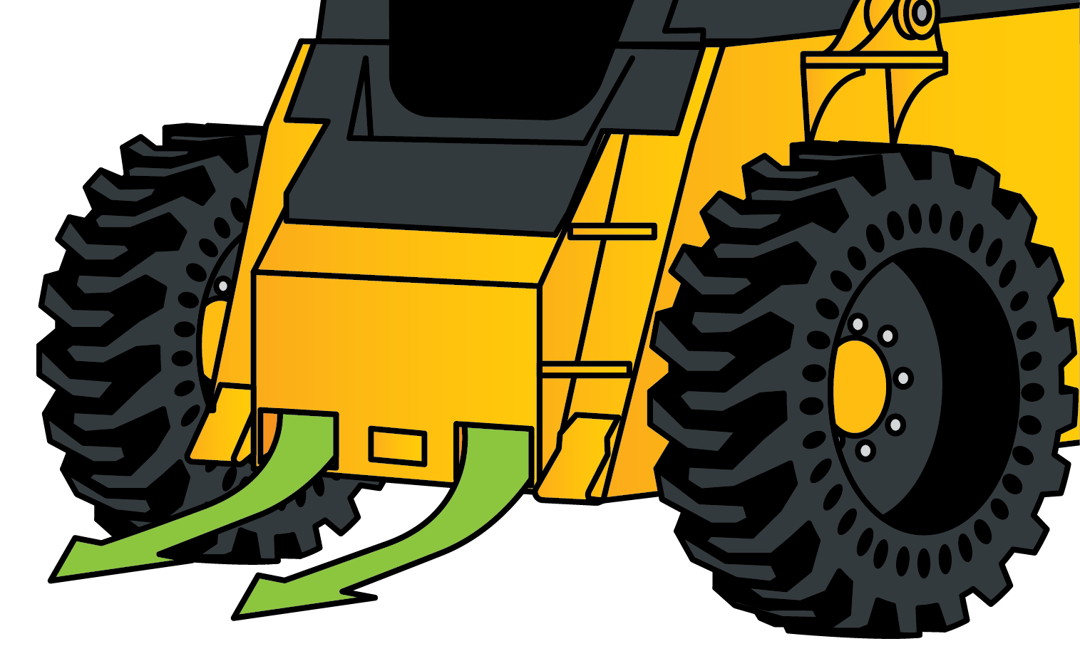 footwell on skid steer