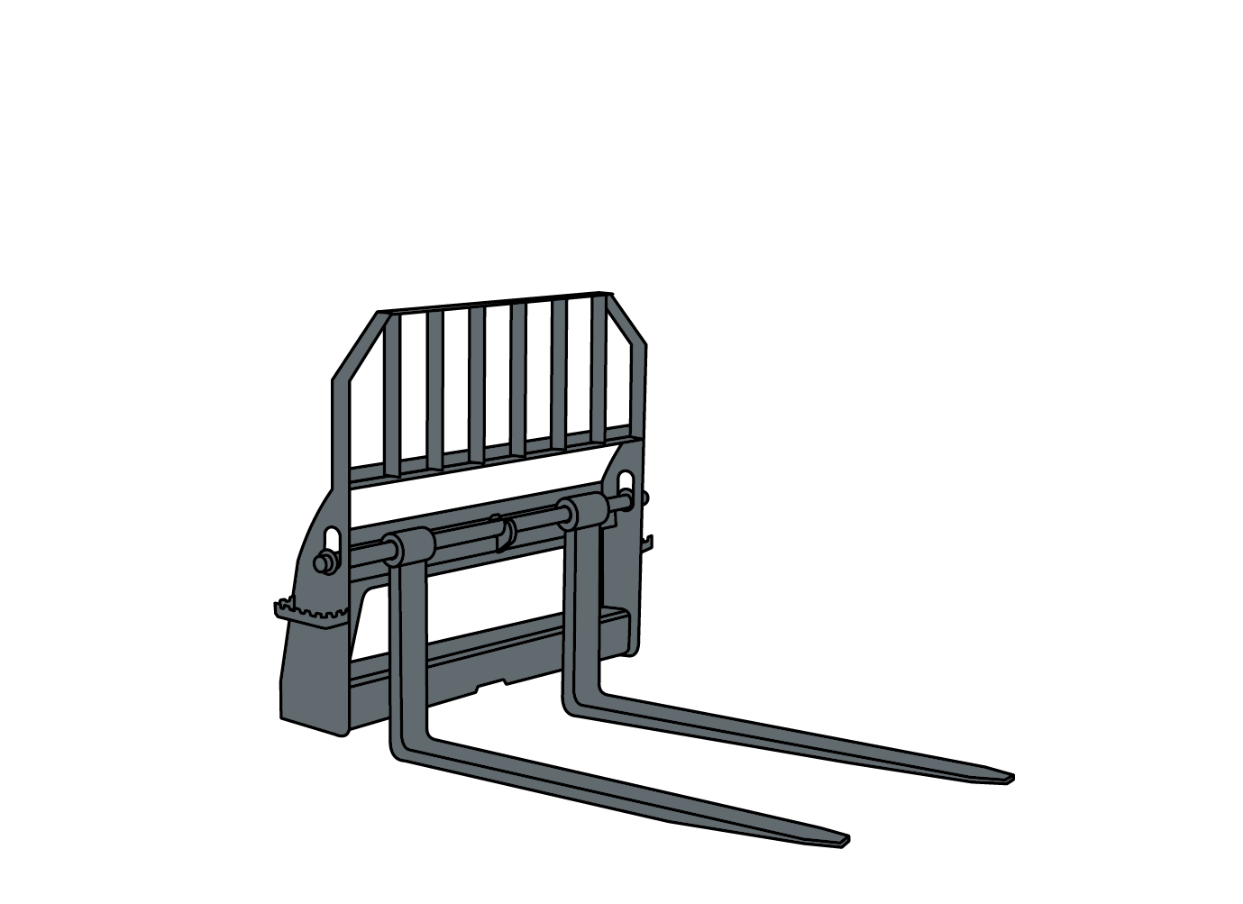 PALLET FORK illustration