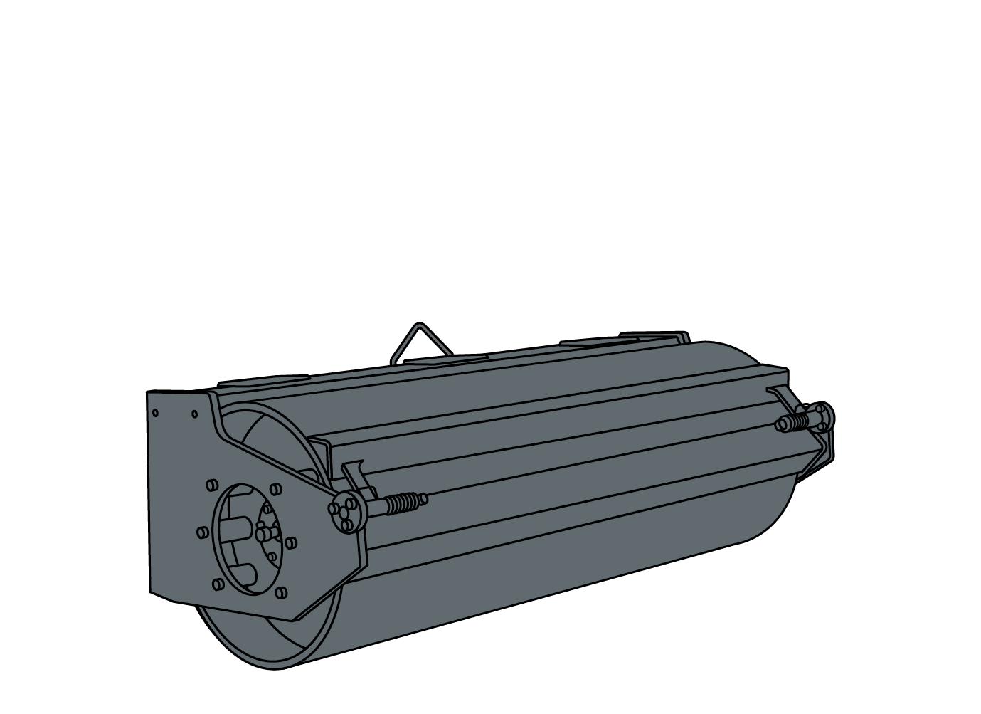 VIBRATORY ROLLER illustration
